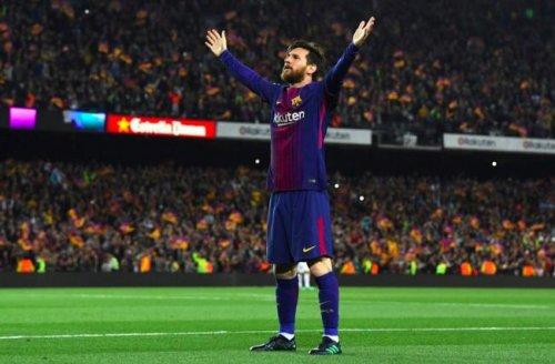 El rey de los derbis.Messi Ronaldo le sigue liderando la cabeza de Europa