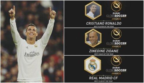 Premio: fue elegido el mejor jugador del Real Madrid Cristiano Ronaldo por Lippi para el Gran Premio